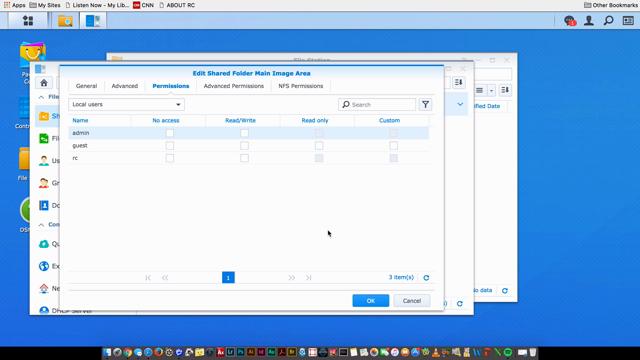 Creating a Shared Folder