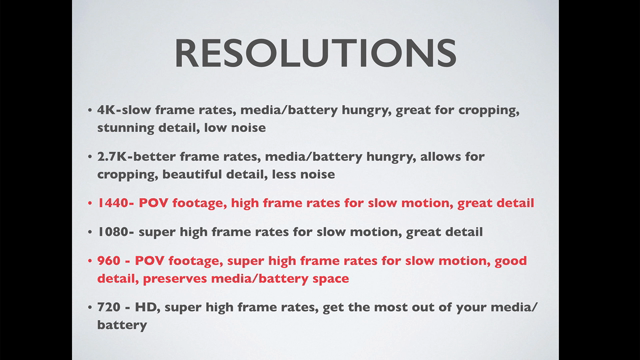 Choose Your Resolution